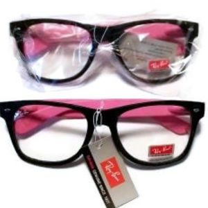 NWT Ray-Ban Sunglasses Frames + Backup Pair QB2457